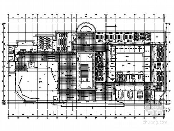 [哈尔滨]国家重点高校国际会议中心教育大楼装修施工图