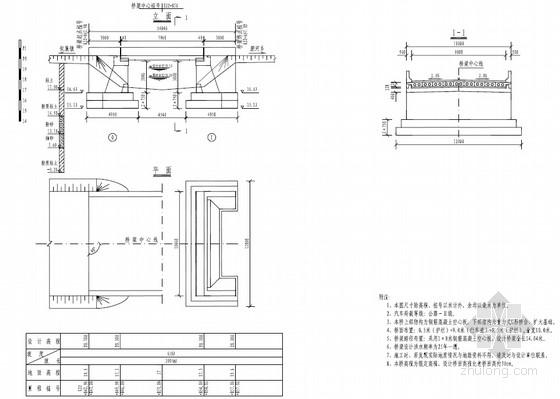 U形混凝土衬砌渠道设计图资料下载-[PDF]1x8米钢筋混凝土空心板桥危桥加固工程设计图(22页)