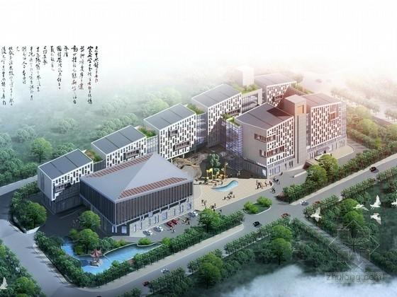 [山东]某7层活动中心建筑方案文本(含PPT)