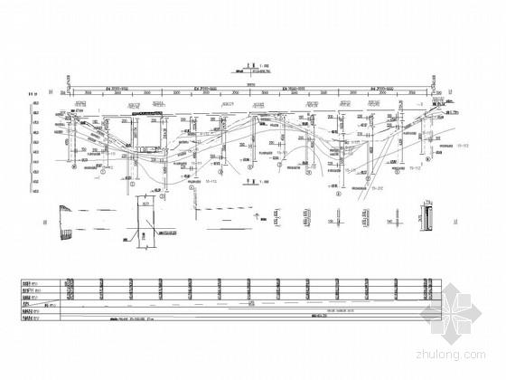 [福建]19.75m~23.75m宽12X30米PC连续T梁桥施工图168张(含公用构造图)