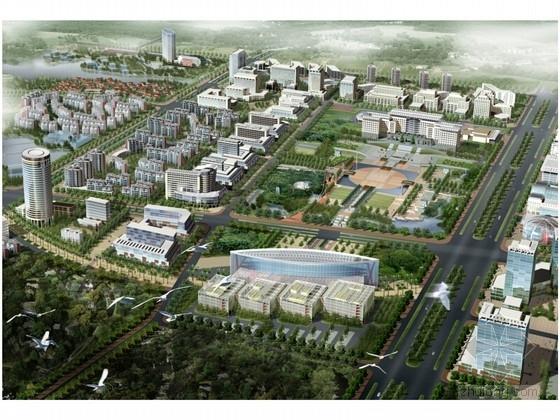 [江西]行政新区中心区修建详细规划方案