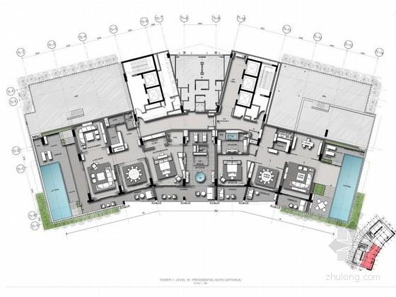 [海南]世界知名跨国酒店集团五星级酒店客房设计方案