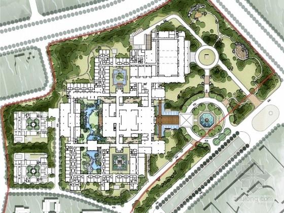 [天津]新中式高端生态酒店外环境景观设计方案(国际知名设计机构作品)