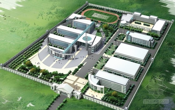 平面厂房规划规划文本资料下载-[江苏]现代风格水泥厂总体规划设计方案文本