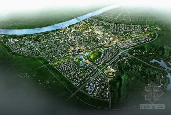 [湖南]大型城市规划及单体设计方案文本