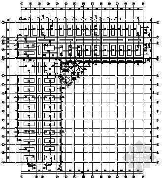 IFLA学生竞赛图纸资料下载-某中学学生公寓结构图纸