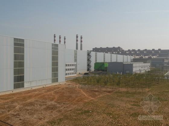 [辽宁]钢结构厂房施工组织设计(鲁班奖,厚板轧机生产线)