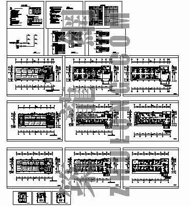 三层办公楼全套图纸(包括说明系统强弱电部分)
