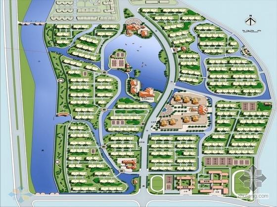 龙岩市居住区修建性详细规划设计