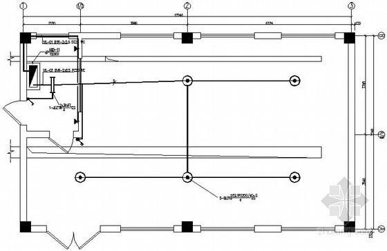 生活水泵房电气施工图纸