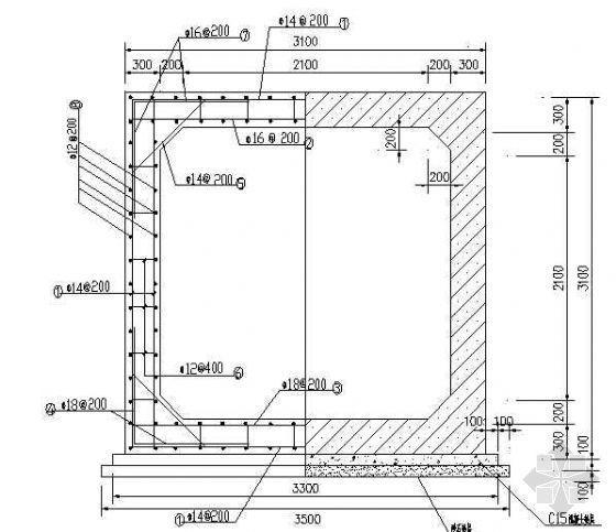 某泵站箱涵设计图纸