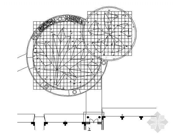 居住区铺装平面图(4)-4
