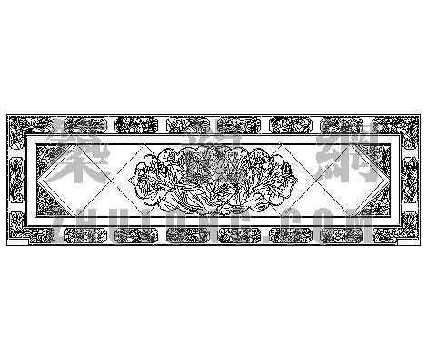中式造型墙002