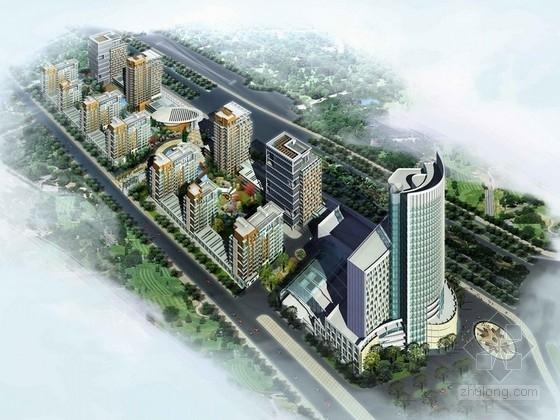 [长春]商业住宅区规划及单体设计建筑方案文本