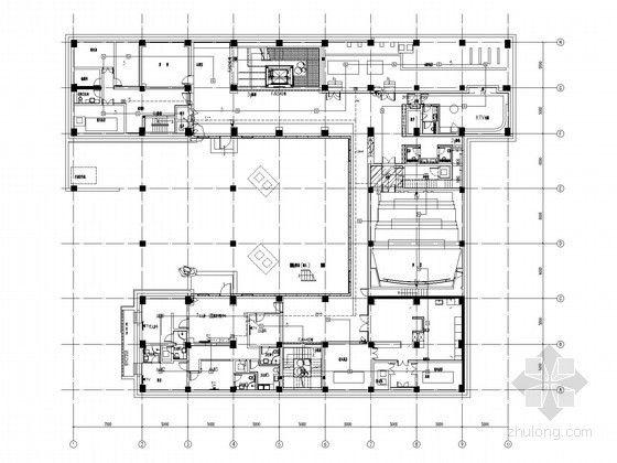 [北京]高端别墅住宅弱电智能系统施工图纸(弱电全面)