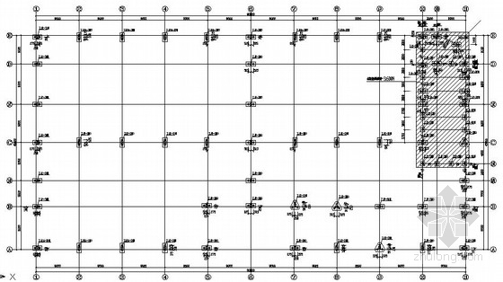 [广州]物流仓库结构施工图