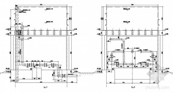 某氮压机软化水工程施工图