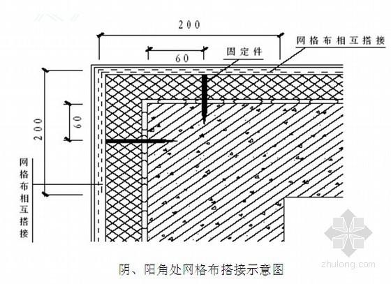 湖北省高层综合楼外墙保温节能施工方案