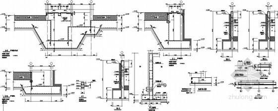[山东]19层剪力墙住宅电梯基坑及集水坑、基础外挑节点构造详图