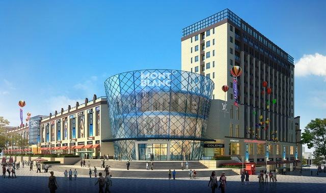 又一波高清城市综合体设计效果图 外立面设计效果图