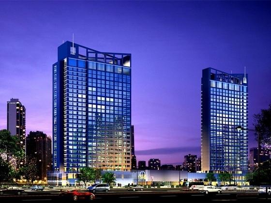 带转换层的框剪结构资料下载-[湖北]带托柱转换的框剪结构国际大酒店结构施工图