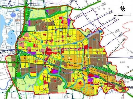 [苏州]全套规范性可持续化城市景观规划设计方案