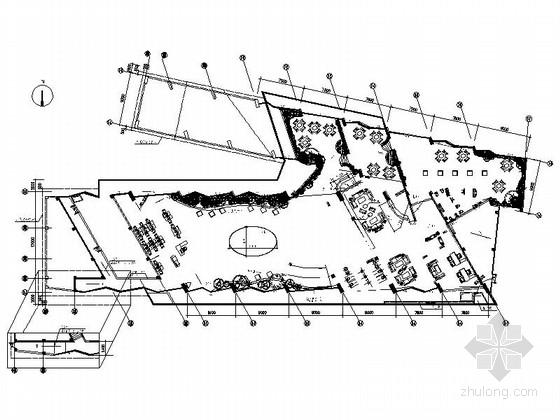 [长沙]城市花园洋房高档商业中心及接待中心设计装修图(含效果实景)