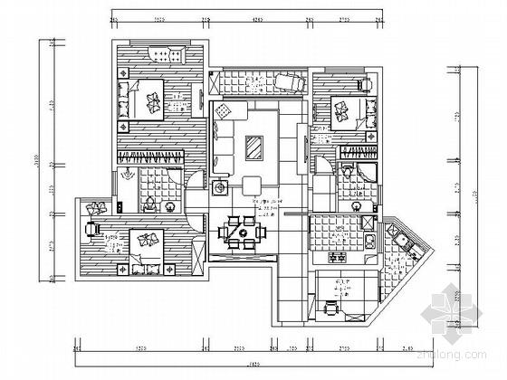 [泉州]现代四室两厅装修图(含效果)