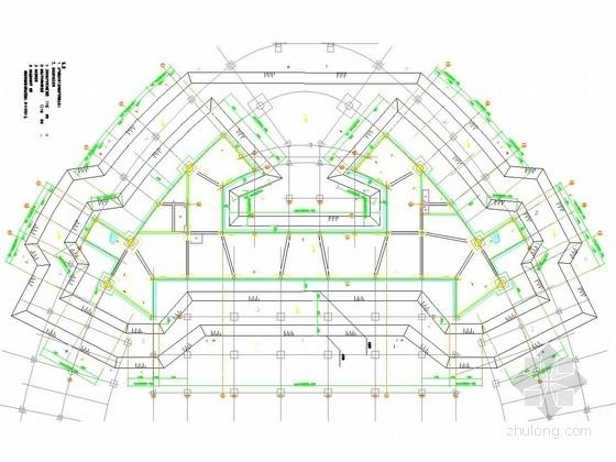 [福建]游泳馆基坑土钉墙加槽钢组合支护施工图