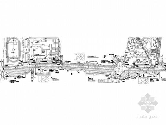 [重庆]城市支路16m宽道路工程施工图设计46张