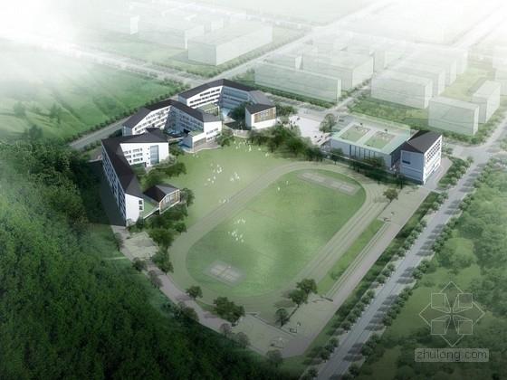 [深圳]某中学规划及建筑单体设计方案文本