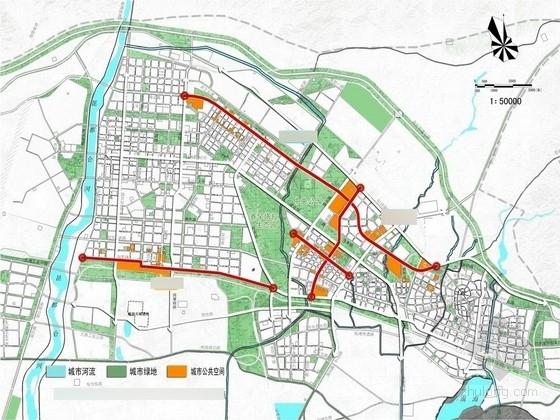 [包头]人性化及无障碍道路景观规划设计方案