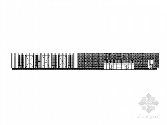 [上海]3层现代风格超市及专业卖场建筑施工图(知名设计院)