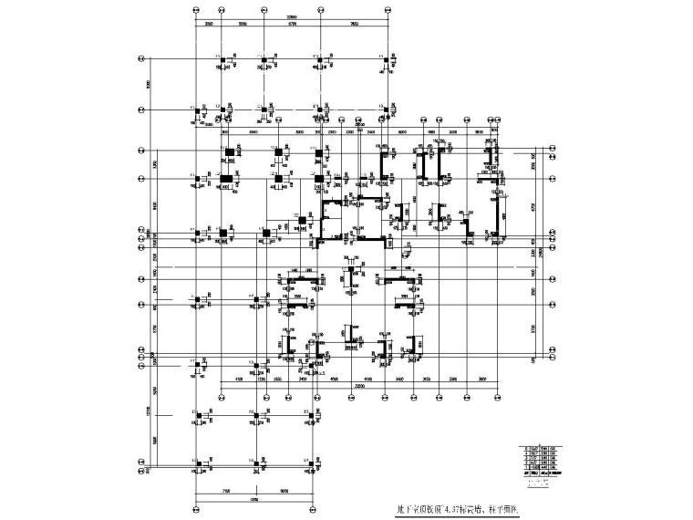 钓鱼台九号住宅小区3栋小高层建筑结构全套图