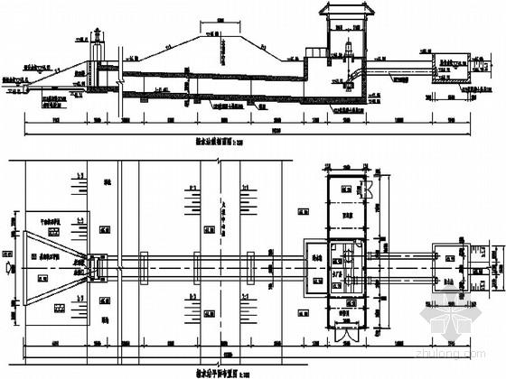 小型农田水利工程水源典型图设计(泵站 取水井 塘坝)