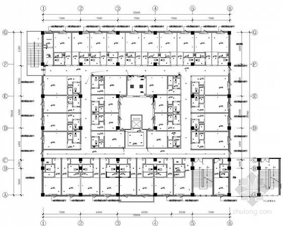 二类高层建筑强弱电电气施工图纸