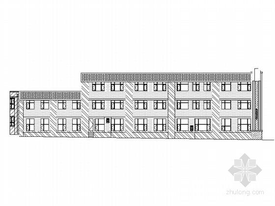 [吉林]3层住宅沿街商业建筑施工图(2015年图纸甲级设计院)