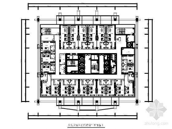 [深圳]某四星酒店平面布置图
