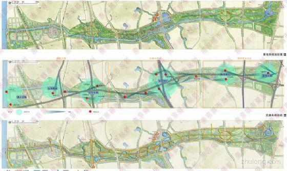 江苏南京大学城滨河景观概念性设计方案