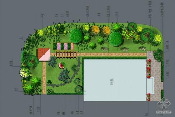 北京某别墅庭院设计方案