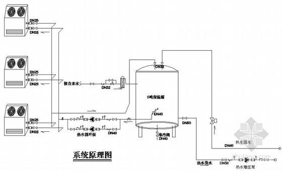 28张空气源热泵(产热水)系统图