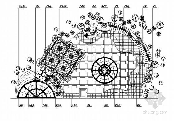 小广场景观规划设计全套施工图