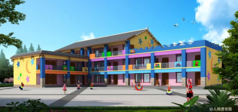 幼儿园透视图