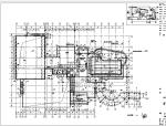 [上海]现代风格体育会所设计图(球场+泳池).