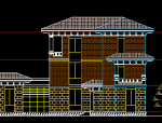 三层私人别墅建筑施工图