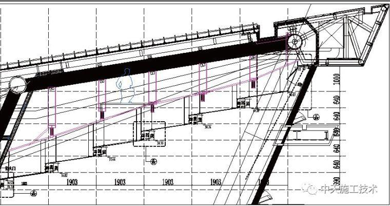 苏州工业园区体育中心异形屋面吊顶装饰施工技术