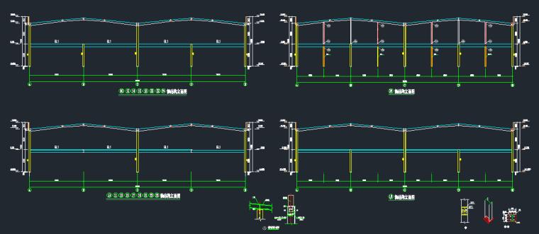 钢承板两层门式钢架厂房结构施工图_1