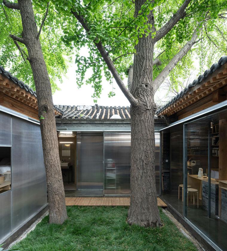 北京胡同中的工作室改造-2