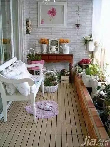 """158款·精致阳台改造案例,小阳台也有""""花园梦""""!_69"""