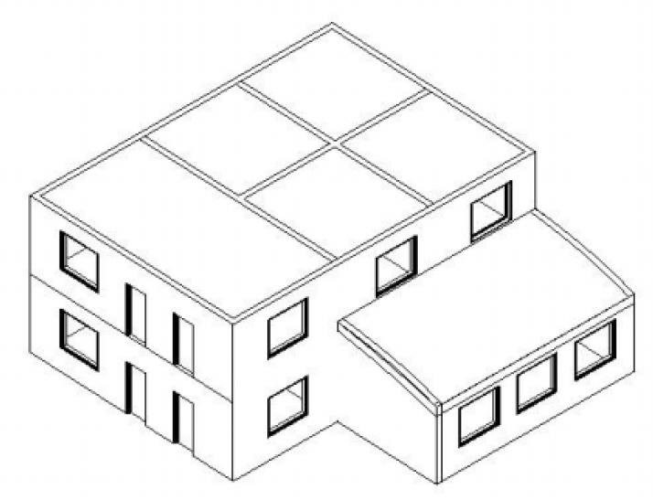 revit与TArch联手创建phoenics模型